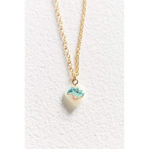 NWT Free People Vintage Paradiso Charm Necklace